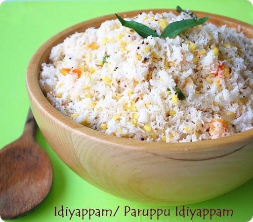 paruppu idiyappam